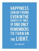 Happiness can be found even in the darkest times! ;-)