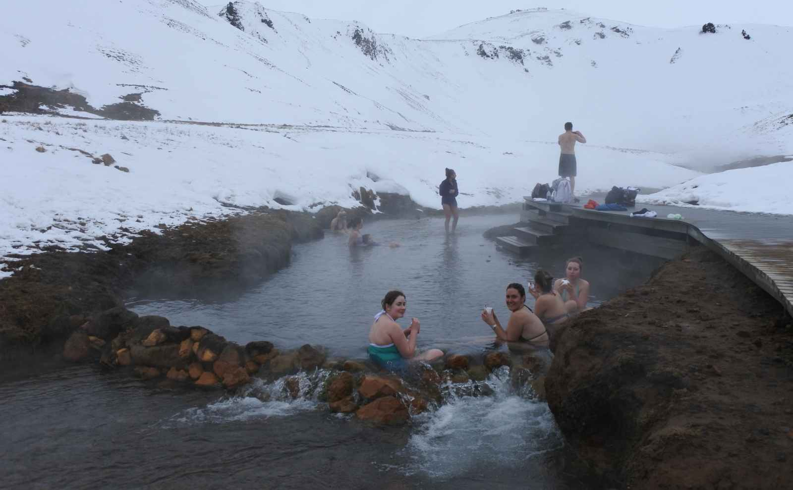 Best Hot Springs Iceland