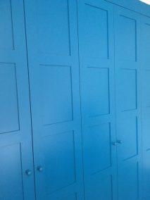 Bespoke Fitted Wardrobe Blue