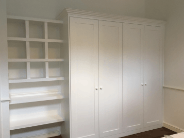 Bespoke Fitted Wardrobe and Shelving