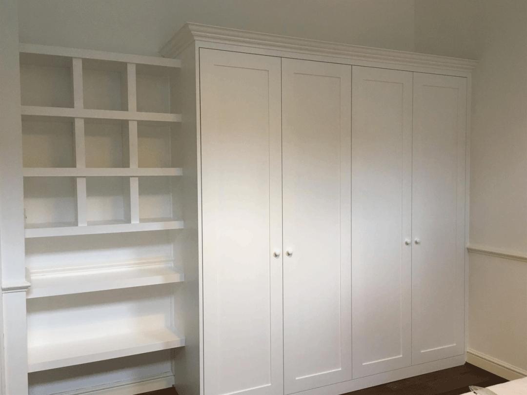 Bespoke Alcove Wardrobes & Shelving - PJH Carpentry & Joinery