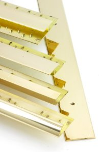 Solid Brass Carpet Trims 2.75m - Buy online - Free UK delivery