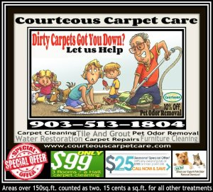 Carpet Cleaning and Repairs Coupon