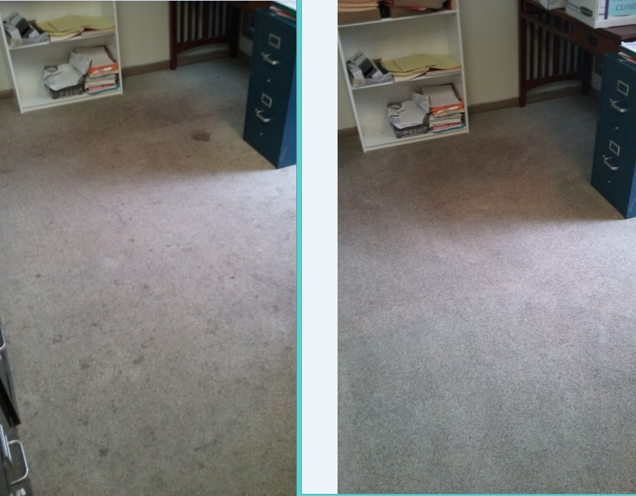 Commercial Carpet Cleaning results, Joplin MO