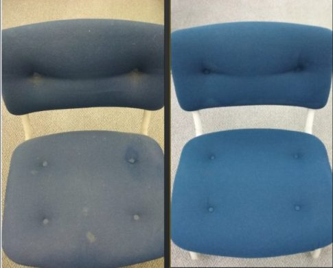 Upholstery cleaning berfore_after Joplin MO