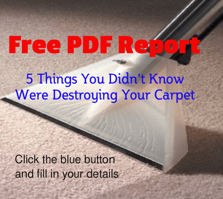 5 tips to prevent wear in carpets