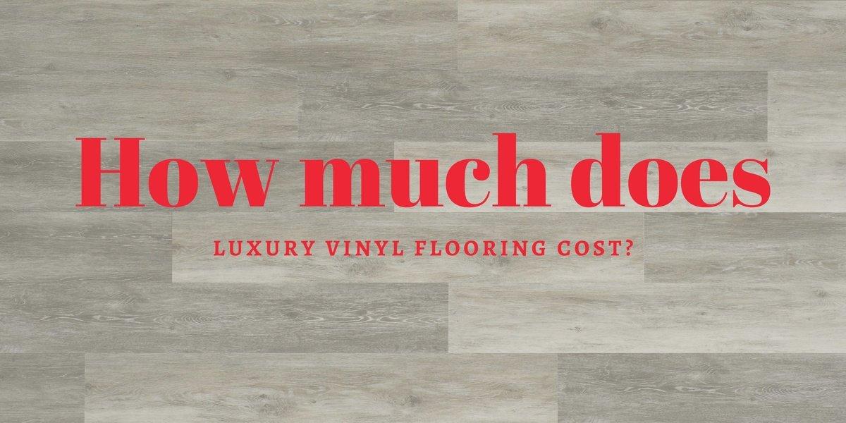 how much does luxury vinyl flooring