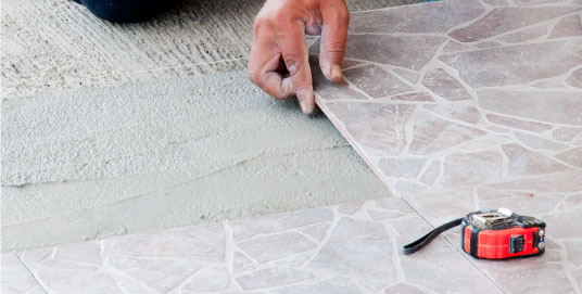 Commercial Tiling Laying