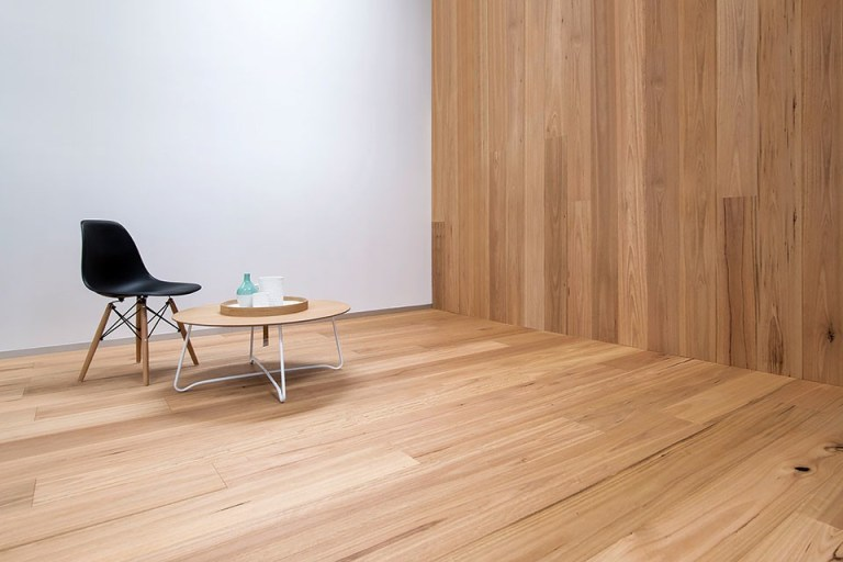 table and chair on timber floor