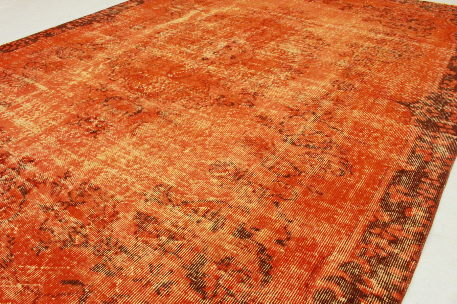 Teppich Orange Vintage Teppich Orange In 290x200cm 1011 5132 Bei