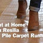 Resilia Plastic Floor Protector For Carpet