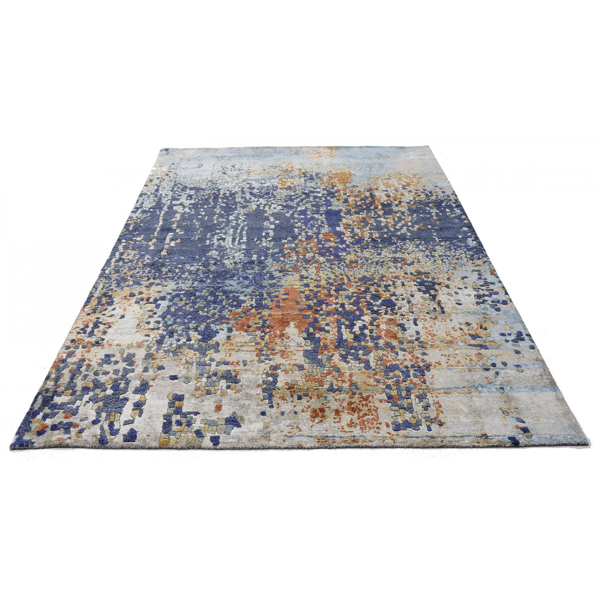 tapis moderne collection athena 295x198 laine et soie