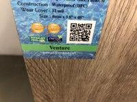 Unifloor Aqua Waterproof Vinyl Flooring-Carpet Shack ...