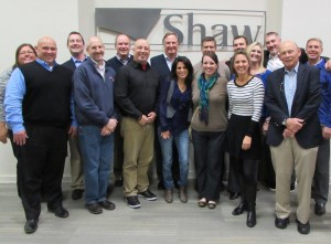 The Committee also met with Shaw's executive team, Vance Bell, Randy Merritt and Ken Jackson.