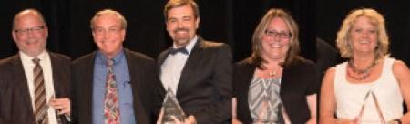 (L-R) Doug Bertrand, Steve & Josh Elder, Missy Bakken & Lisa Branch