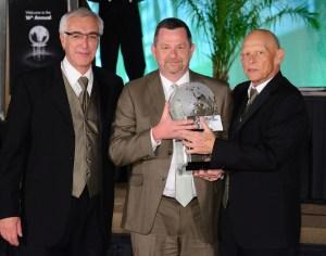Gene Podell, Tom Peeters, Retailer of the Year