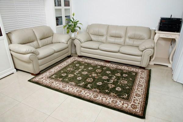 שטיח קלאסי דגם זיגלר ירוק