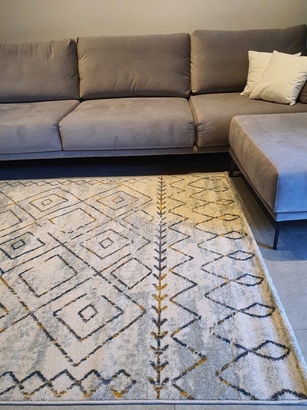 שטיח ברבר אפור לבן זהב 05 (2)
