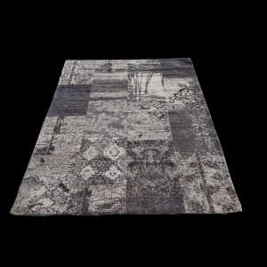 שטיח מעוצב צבע אפור (3)