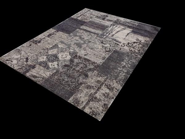שטיח מעוצב צבע אפור (4)