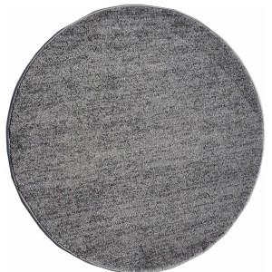 שטיח עגול אפור בהיר