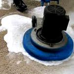 dry foam carpet cleaning method