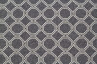 Charcoal and Grey Luxury Wool Carpet Remnant