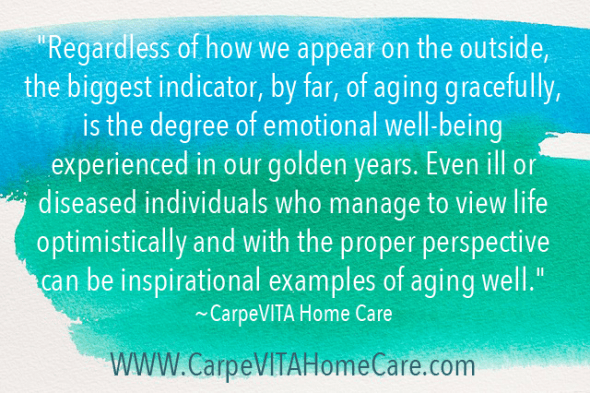 Aging Gracefully Quote Image