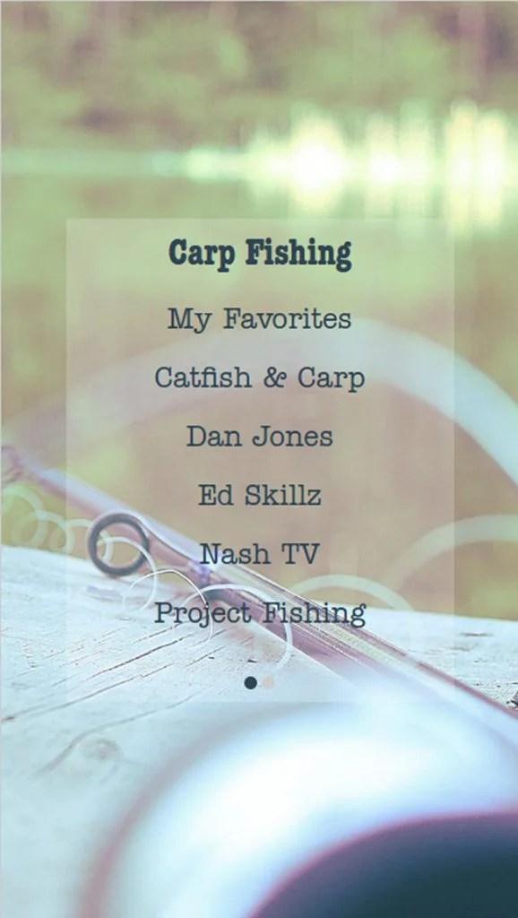 Carp Fishing Videos & Tips App