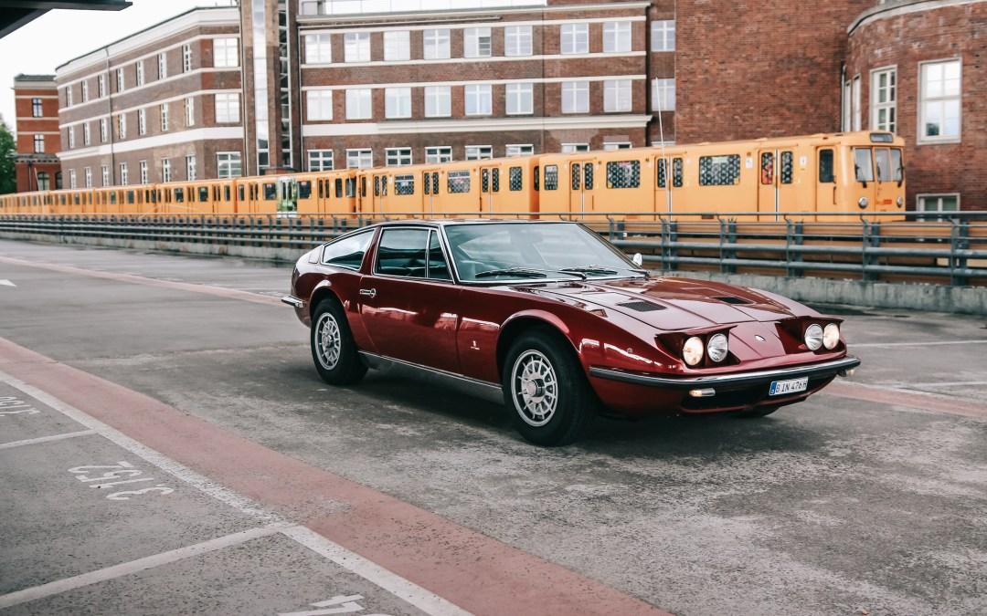 A True Italian Gran Turismo in Berlin: Dirk And His Maserati Indy America