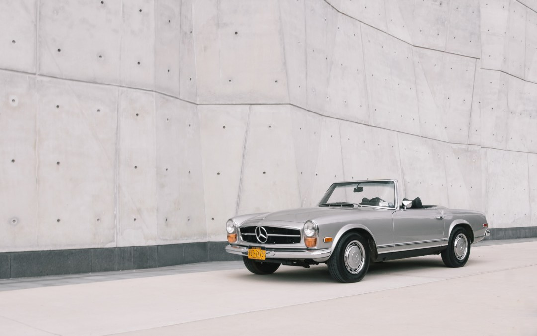 A New Yorker's Pagoda: Christian and his Mercedes Benz 280SL