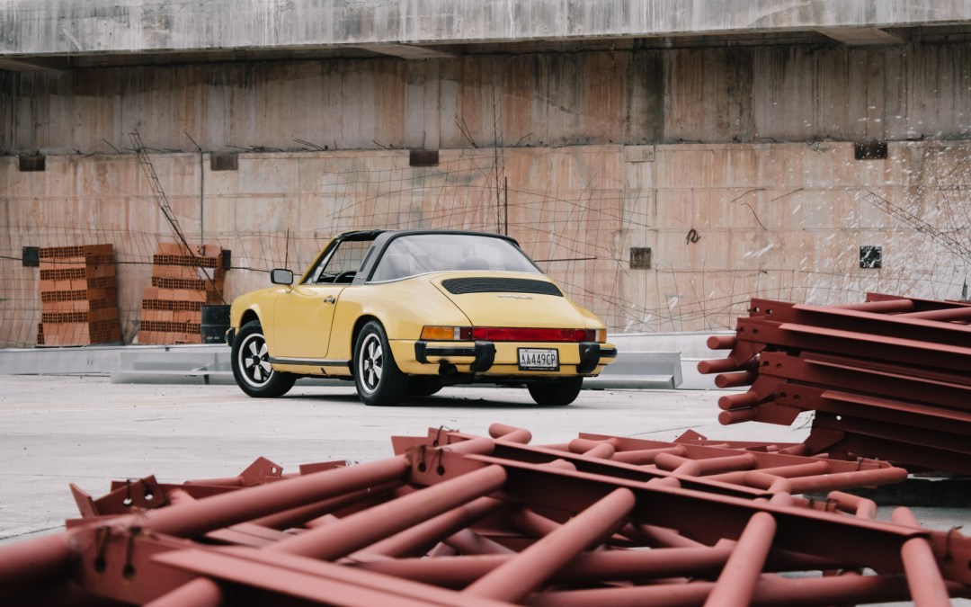 The Contrast Of Now And Then Of A Country With The Largest Oil Reserves: William And His 911 Targa