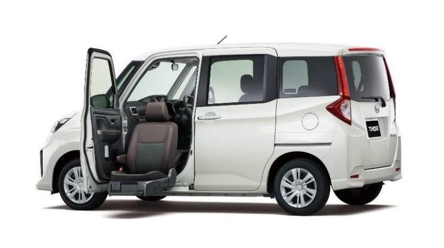 2021 Daihatsu Thor Seat Lift