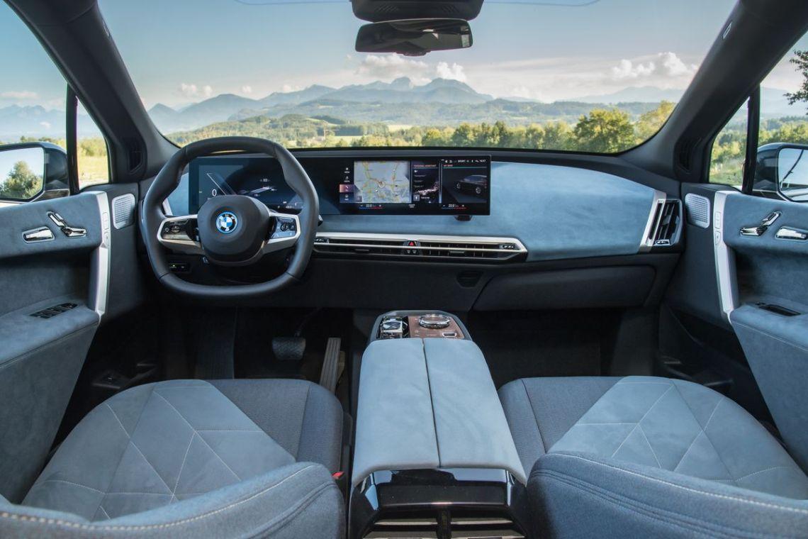 2022 BMW iX xDrive50.