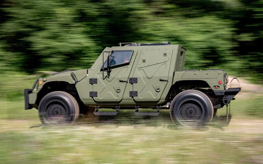 AM General Humvee NXT 360 prototype (Photo by Matt Cashore)