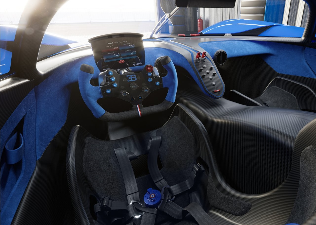 2022 Bugatti Bolide Concept