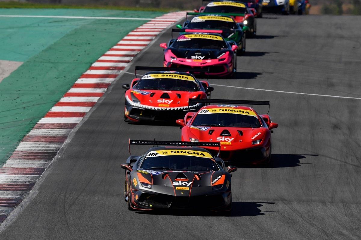 2022 Ferrari 488 Challenge Evo