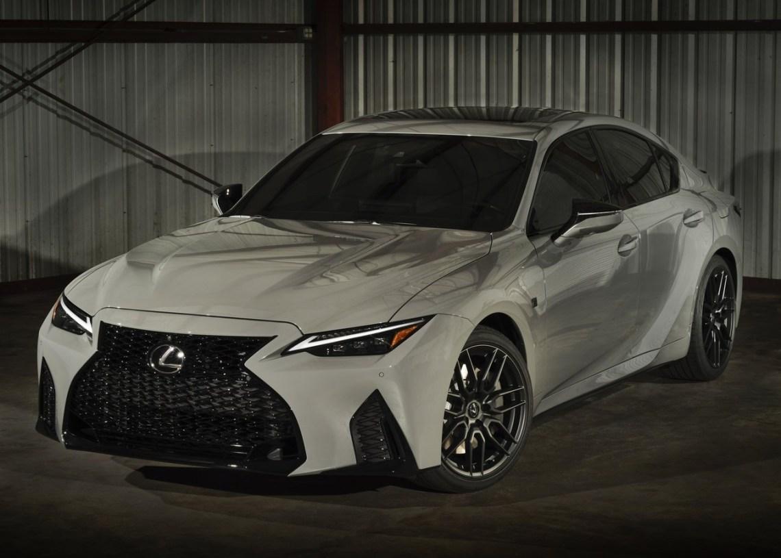 2022 Lexus IS 500 Launch Edition