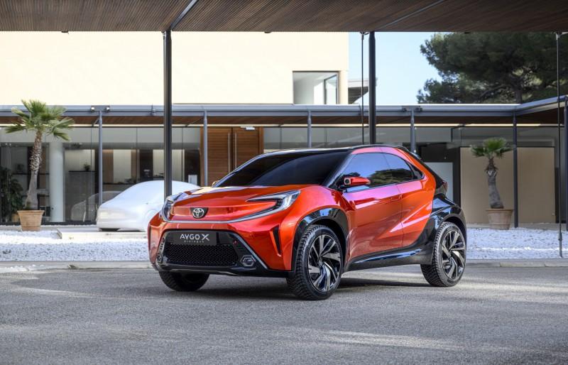 2022 Toyota Aygo X Prologue Concept