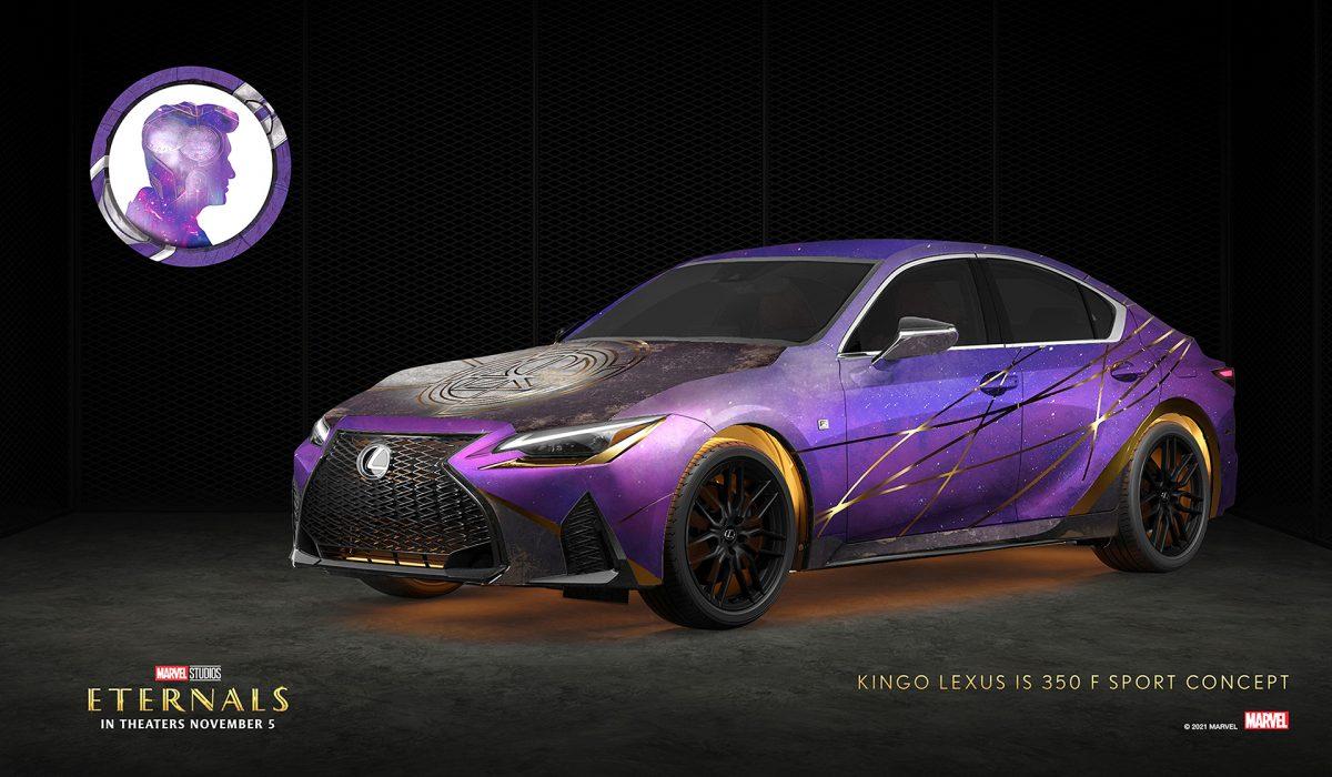 Kingo x Lexus IS 350 F SPORT   Lexus/Marvel Studios
