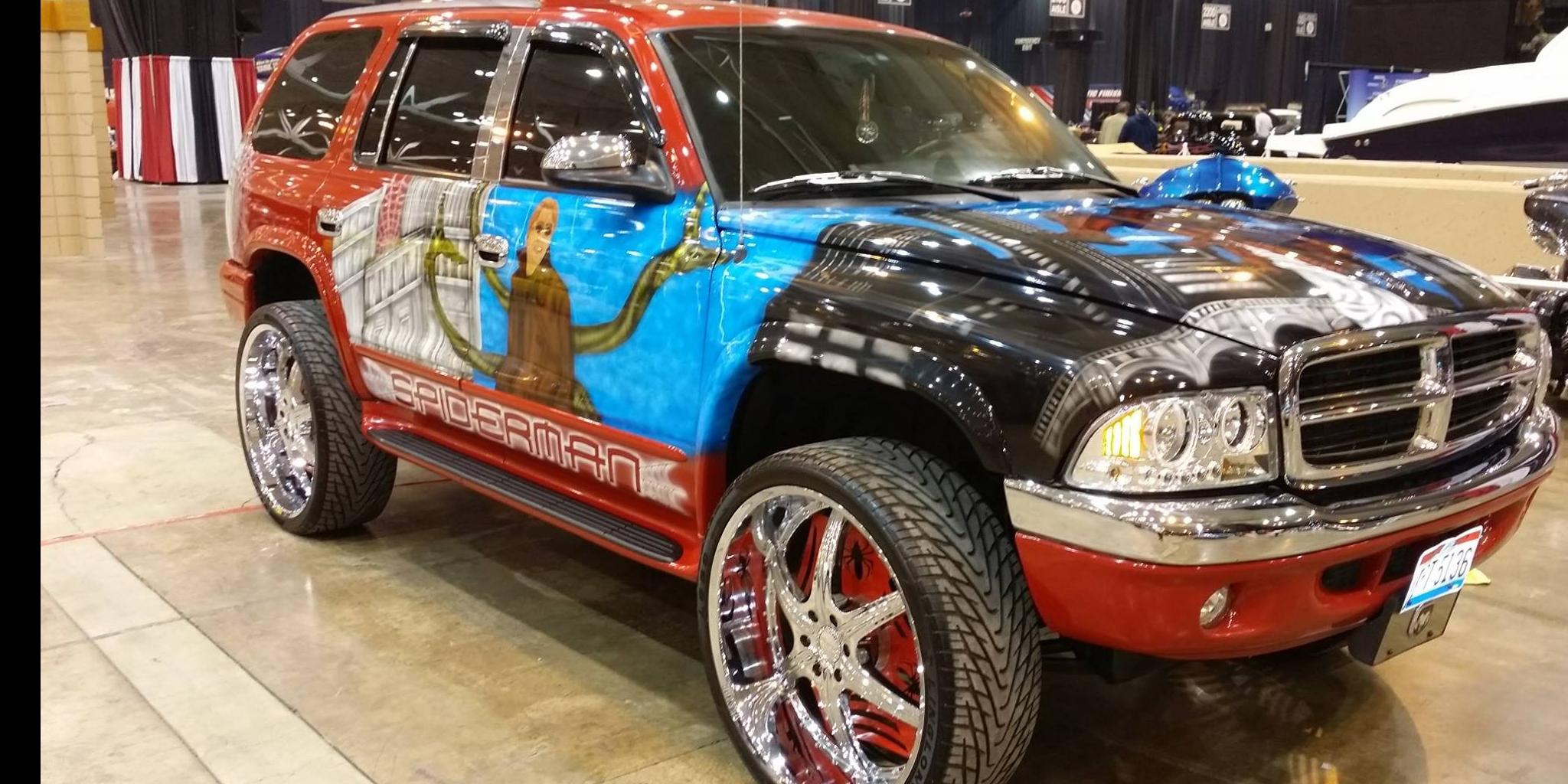 hight resolution of spiderman216 1998 dodge durango