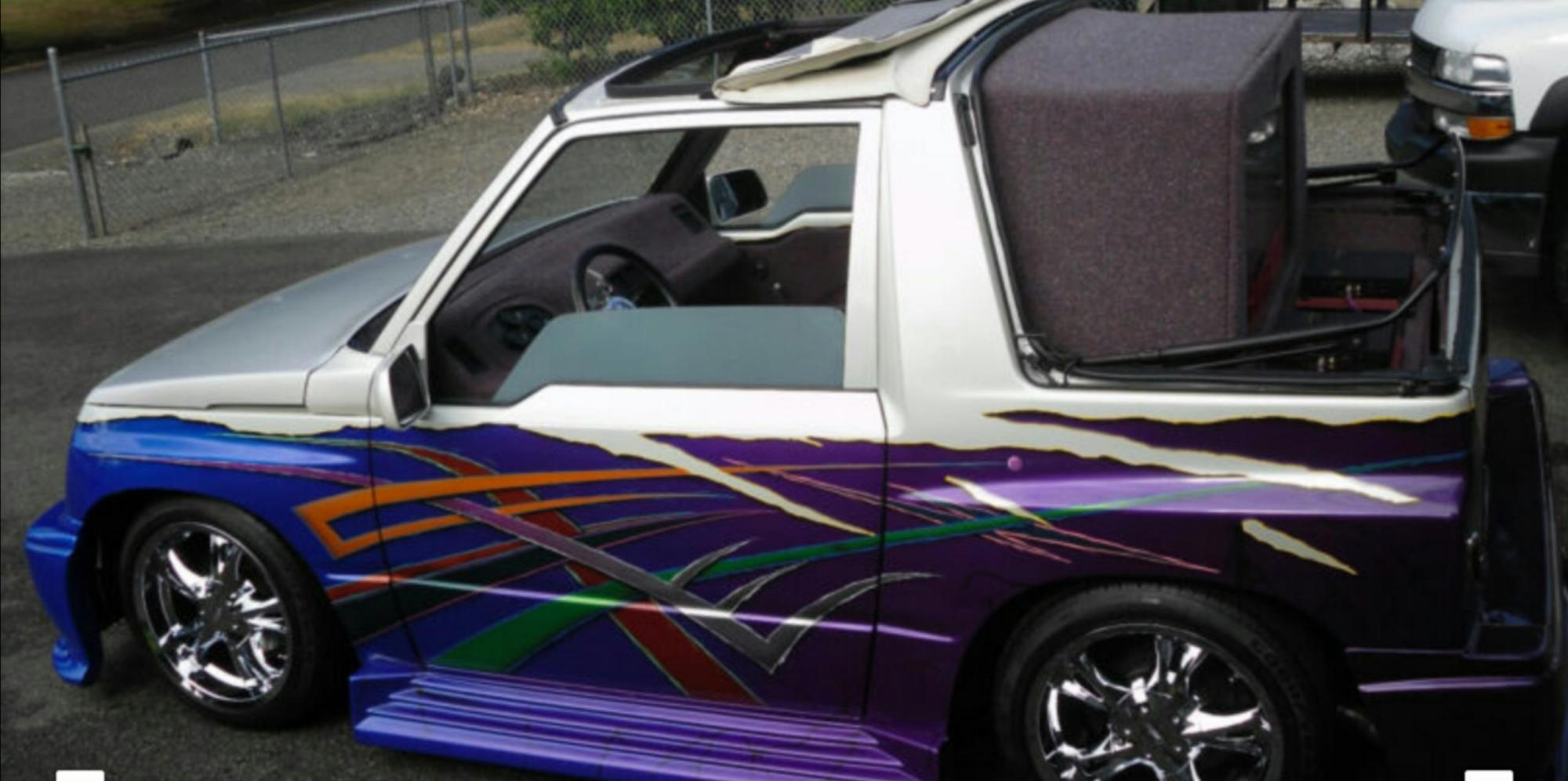 hight resolution of the joker 1991 geo tracker