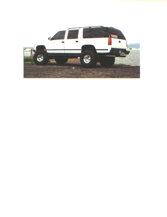 1989 Gmc Suburban 1500 Customized