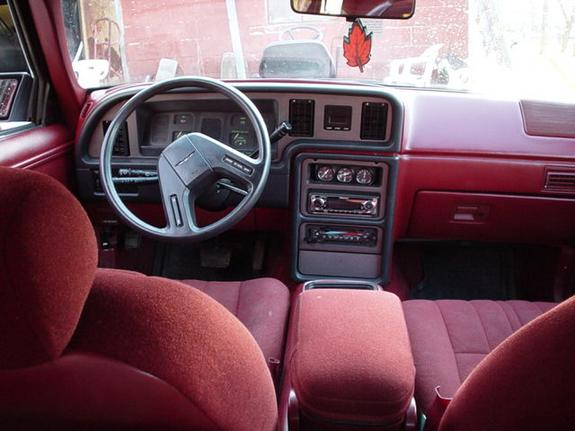 88GrandMarquis 1985 Ford Thunderbird Specs Photos