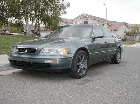 1994 Acura Legend On 20 Rims