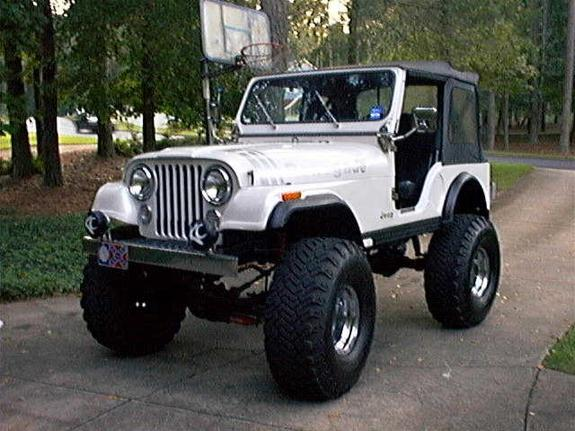 Jeep cj5 huge 81 cj5 renegade on 38 s for sale new