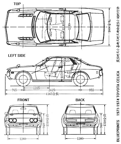 Blueprints Toy Car PDF Woodworking