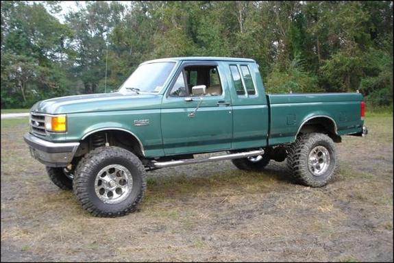 Lift Inch Inch Lift 4x4 1990 4 F Ford 250 Body 2 Suspension