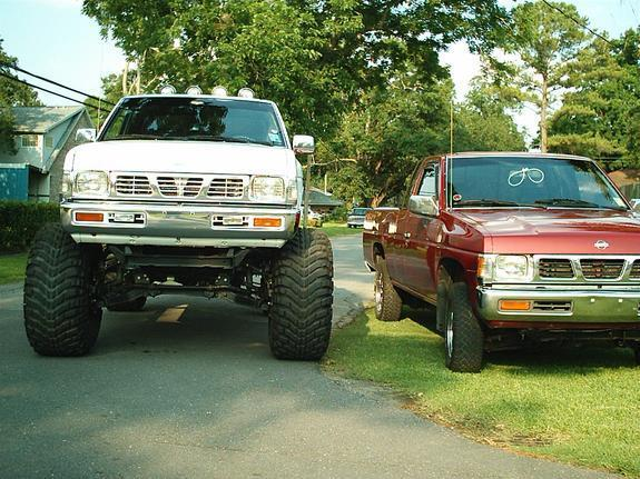95 Nissan Pickup Lifted