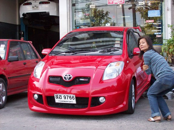 toyota yaris trd kit new agya g a/t 71504632 2007 specs photos modification info at cardomain 29610850005 large